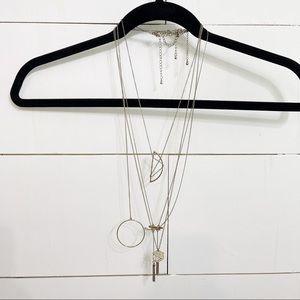 Forever21 Gold Necklace Boho Bundle